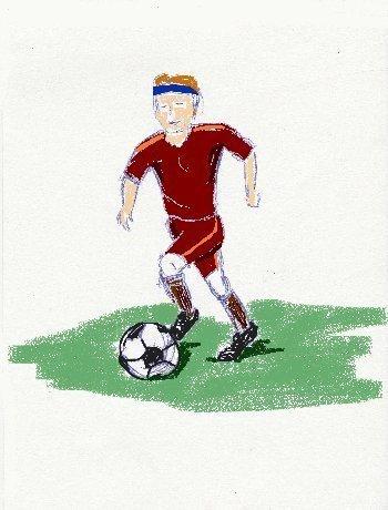 soccer, soccer player, soccer ball, fut-ball